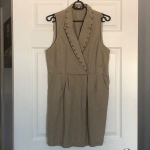 Love21 dress with stud detail